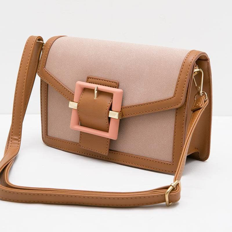Bag with Buckle Detail